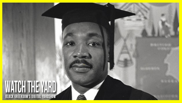 MLK s Graduation Picture From Boston University - The King Center Martin luther king graduation photo