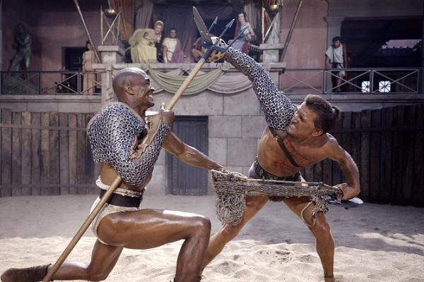 Woody Fight Kirk Douglas