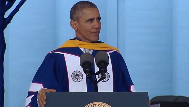 Watch The Live Stream Of President Obama S Commencement
