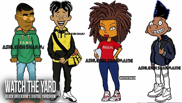 15 Of Your Favorite Black 90s Cartoon Characters Reimagined As HBCU Students