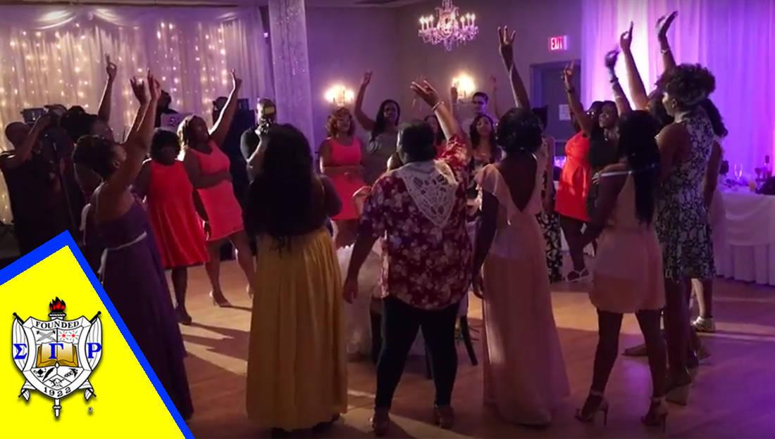 Watch This Beautiful Sigma Gamma Rho Wedding Serenade! - Watch The ...
