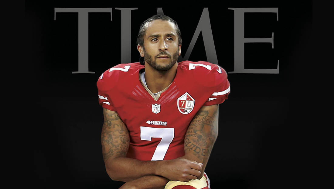 Kappa Alpha Psi's Colin Kaepernick To Be Featured Kneeling On The