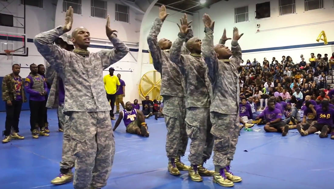 Watch How Omega Psi Phi Revealed Its Newest Line At Fisk