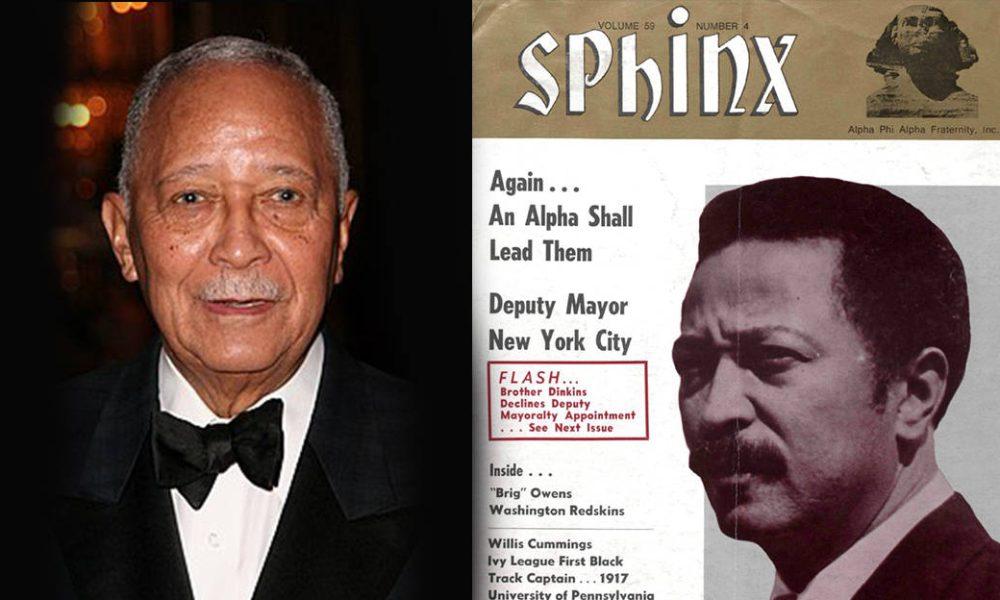 New York S 1st Black Mayor David Dinkins Is An Alpha Phi