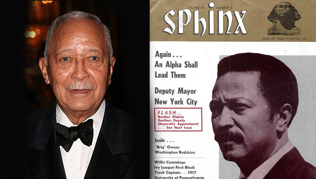 new york s 1st black mayor david dinkins is an alpha phi alpha member new york s 1st black mayor david