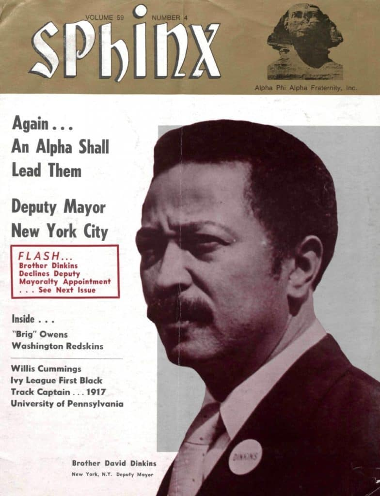 new york s 1st black mayor david dinkins is an alpha phi alpha member black mayor david dinkins