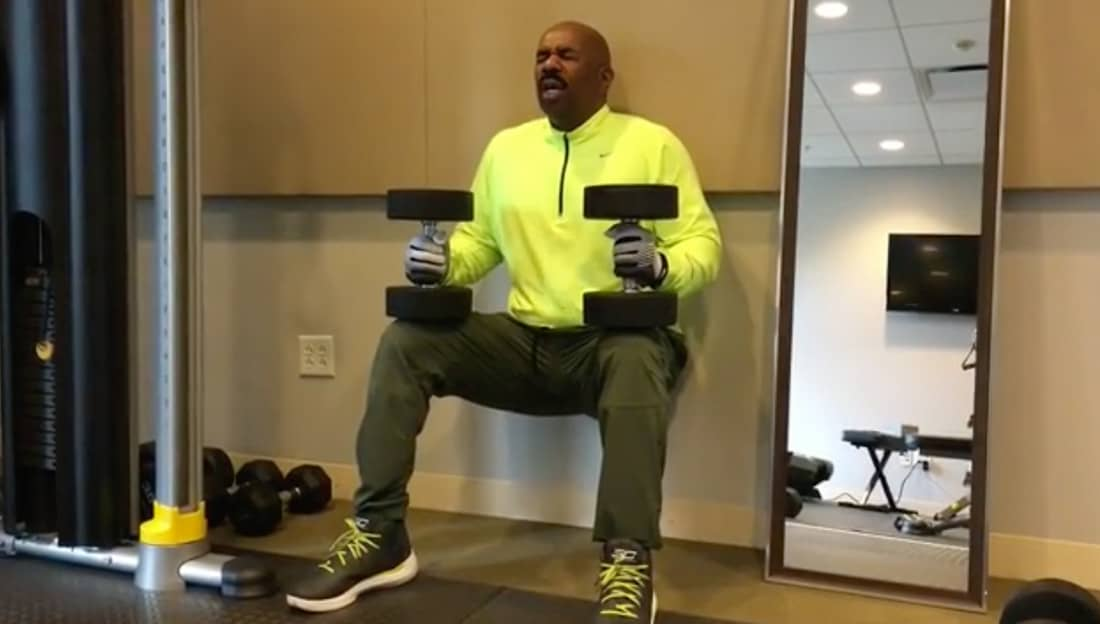 This Video Of Steve Harvey Spitting Invictus Will Get Any Black Inspiration Steve Harvey Poem