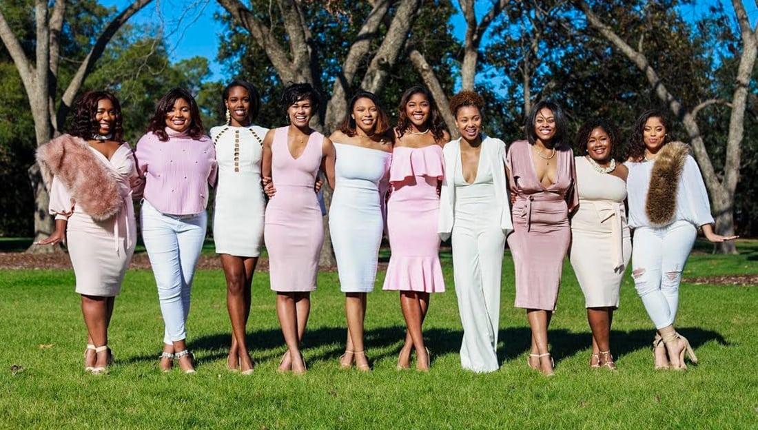 e075fa2810b85 Georgia Southern University's Alpha Kappa Alpha Sorors Celebrate Their  Sisterhood In Style