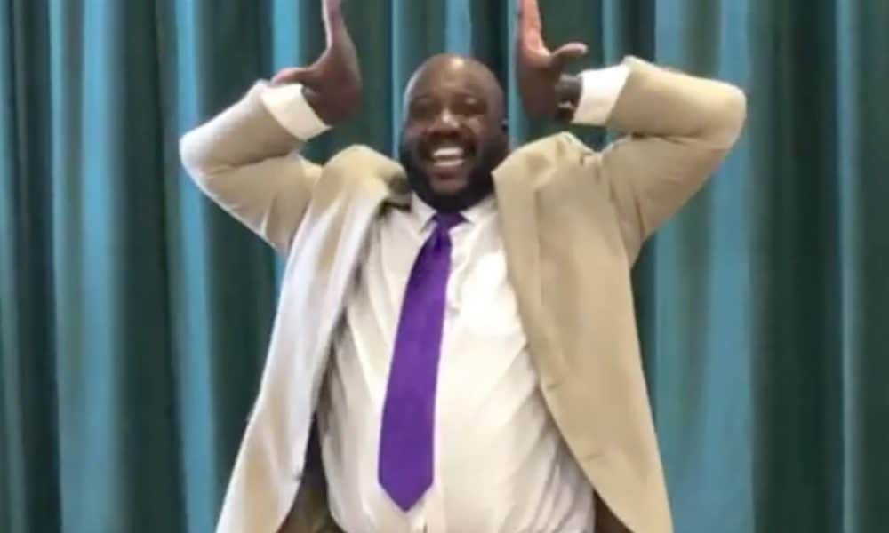 Baltimore Principal Goes Viral After Holding It Down For