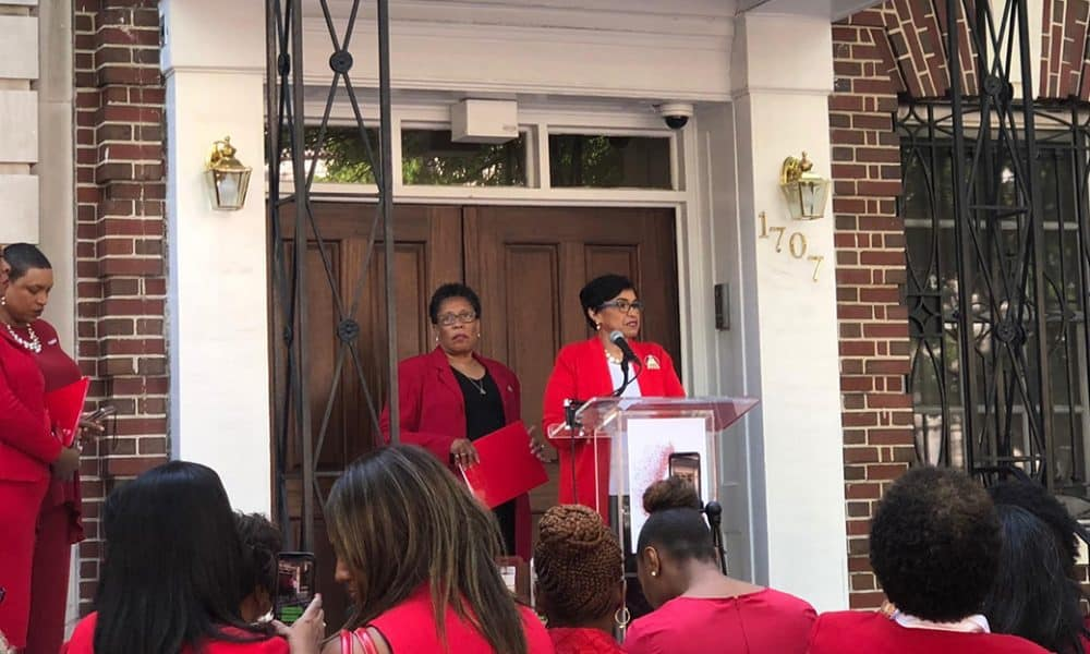 Delta Sigma Theta Just Held An Official Press Conference