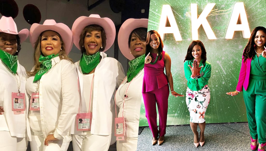 c22ca9b24e9d6 Here Are The Best Photos From Alpha Kappa Alpha's Boule In Houston ...