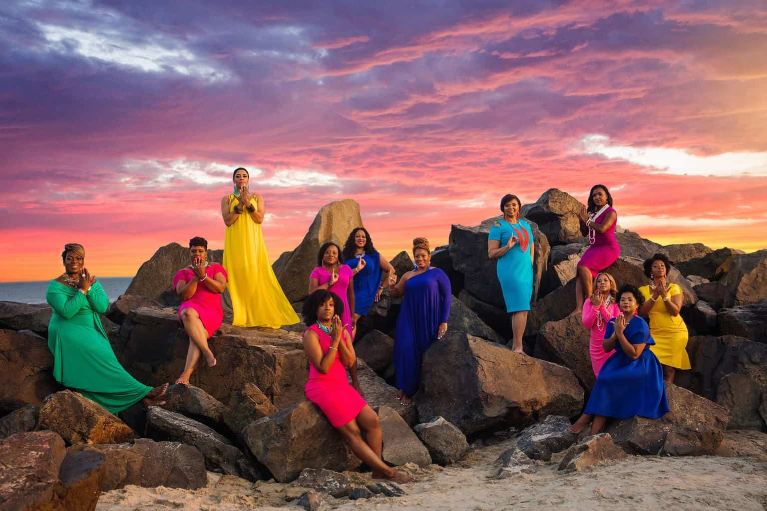 acea9078add5 These Women of Alpha Kappa Alpha Celebrated Their 20th AKAversary With a  Stunning Photo Shoot - Watch The Yard