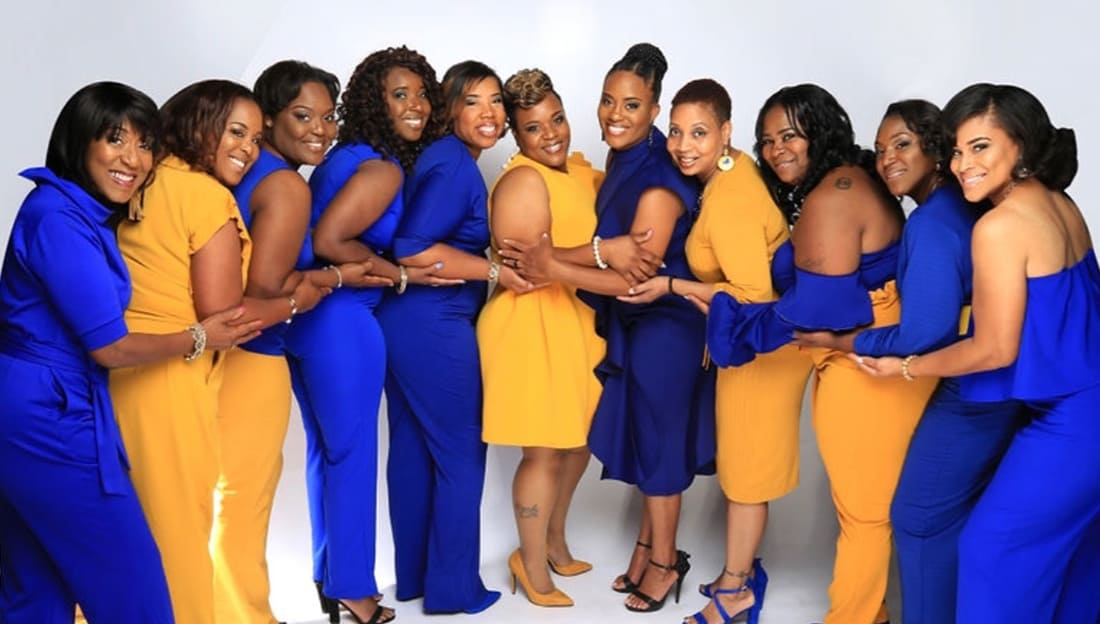 b35a2e74b81ad These Women of Sigma Gamma Rho Did a Photoshoot To Celebrate Using ...