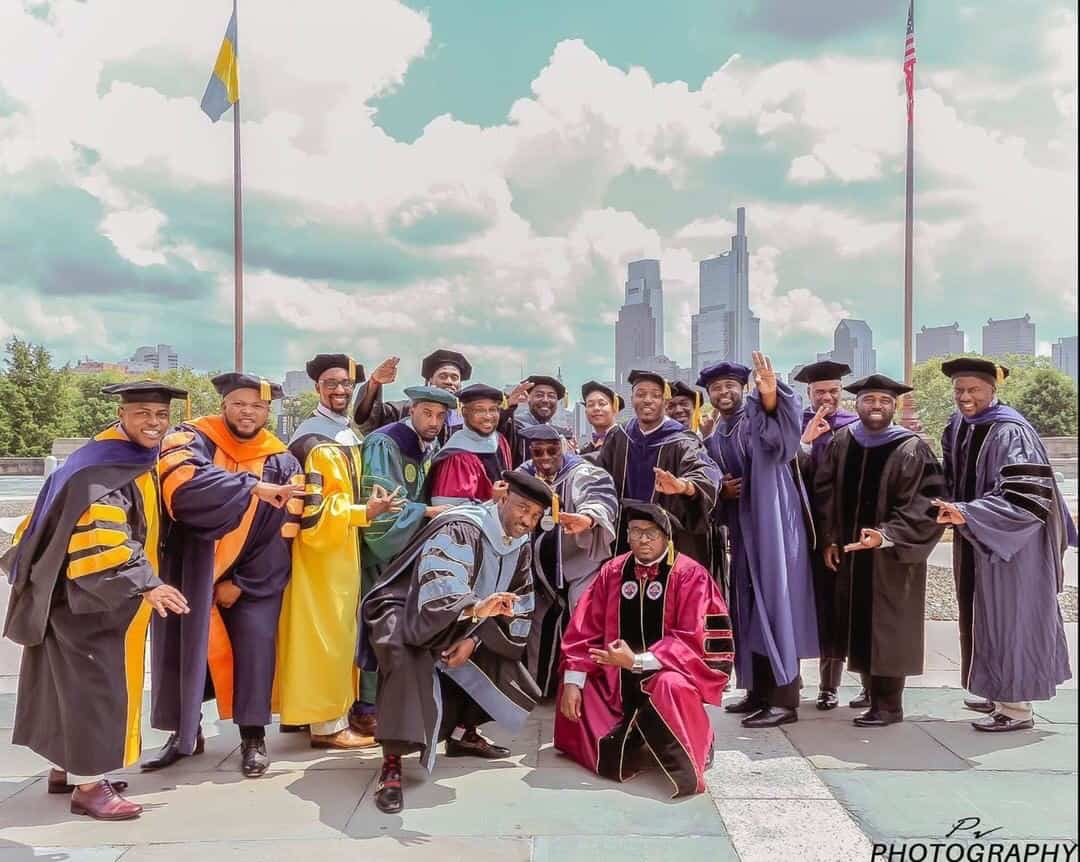 Kappa Alpha Psi Brothers with Doctoral Degrees From Across The